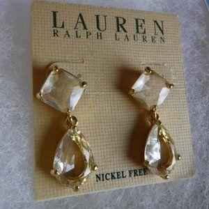 Lauren Ralph Lauren Crystal Earrings
